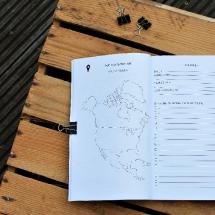 Reisebuch -Die Welt- Wohin-soll-es-gehen_planung_, Reisetagebuch