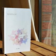 Reisebuch -Die Welt- cover weiß, Reisetagebuch